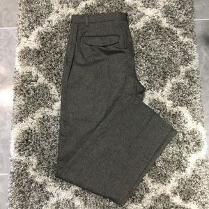 Banana Republic Tailored Fit Wool Blend Pants